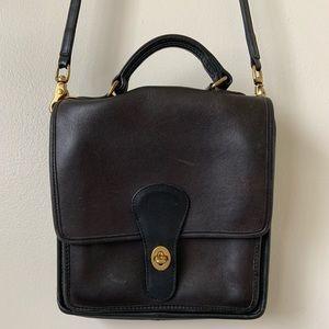 VINTAGE COACH Crossbody Messenger Bag